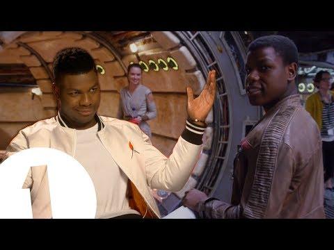 Daisy Thinks I m Adorable. John Boyega on Star Wars Hugs Nicknames and Life as Finn
