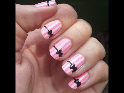 3 Diseños FÁCILES de Uñas 3 EASY Nail Art Designs