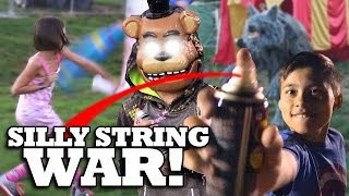 HAUNTED HARVEST FESTIVAL & SILLY STRING WAR!