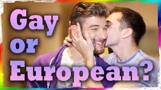 Is He Gay or European? (feat. Calum McSwiggan)