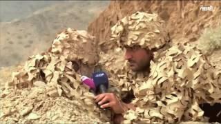 شاهد خطة القناص السعودي مع الحوثي