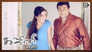 Ghajini Tamil Movie | Scenes | Suriya Presene New Flat To Asin
