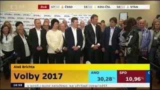 Tomio Okamura (SPD) + Aleš Brichta česká hymna