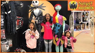 Kids Halloween Shopping at spirit store 2018!! family fun vlogs