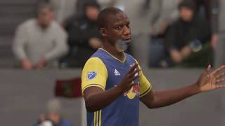 MLS 2018 Full Match - Atlanta FC vs New York Red Bulls   Full Match Sim (FIFA 18 MLS Soccer)
