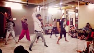 cham cham choreography by A K A   dance academy AKSHAY BANIYA
