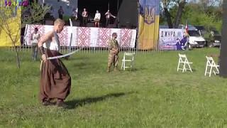 Dance with sabers, Kozak Kolobrod.