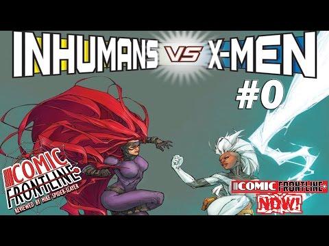 Inhumans VS. X-Men #0: