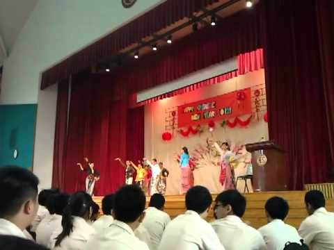 East Spring Sec CNY Malay Dance - Dondang Sayang