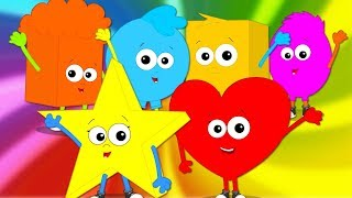 Goodbye Song   Nursery Rhymes   Kids Songs For Babies   Rhyme For Toddlers By Baby Shapes