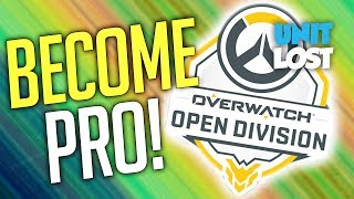 Overwatch - BECOME KRUSHER99! Overwatch Open Division (Entry Level esports)