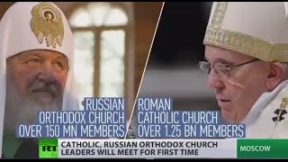 First time since 11th century: Pope Francis to meet Russian Orthodox Patriarch