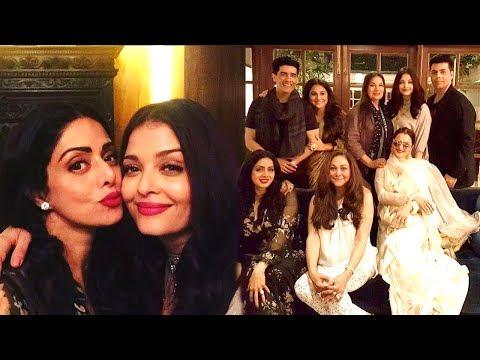 Xxx Mp4 Sridevi S GRAND Birthday Party 2017 Full Video HD Aishwarya Rai Rani Mukerji Rekha Karan Johar 3gp Sex