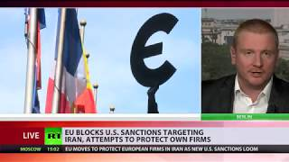 Just Business: EU blocking US sanctions against Iran to protect European companies