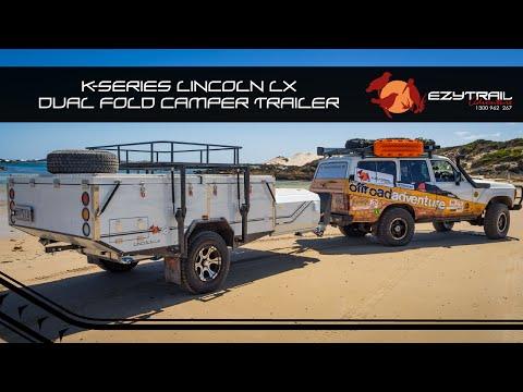 Ezytrail Lincoln LX Dual-Fold Camper Trailer