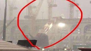 Detik-detik Tragedi Robohnya Crane di Masjidil Haram, Mekkah