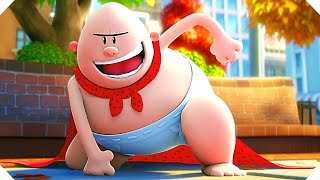 CAPTAIN UNDERPANTS (Animation, 2017) - TRAILER