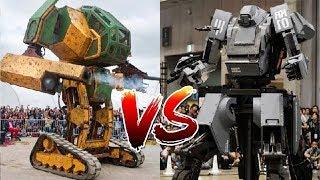 MegaBots VS Kuratas primera pelea de robots gigantes