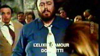 Luciano Pavarotti in Mezzo Tv 1982