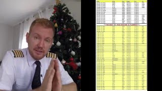 Airline pilot rosters