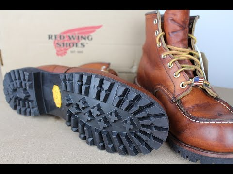 RED WING 875 MOC TOE Resole with Vibram Lug