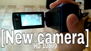 New Digital HD 1080p video camera recorder [SONY HDR-CX240]