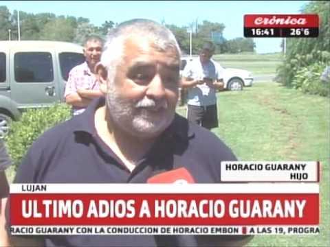 Último adios a Horacio Guarany