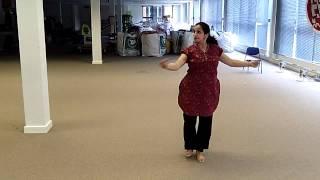 Urja Desai Thakore during rehearsals for Milton Keynes Dance Festival, Big Dance 2012