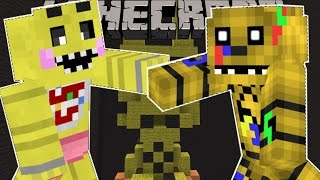 Minecraft: SUPER FIVE NIGHTS AT FREDDY'S BROS BRAWL! (FIGHT AS ANIMATRONICS!) Mini-Game