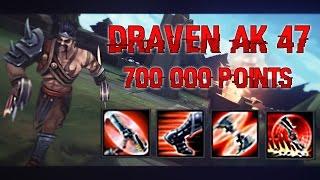 DRAVEN AK 47 - Best Draven Plays   DRAVEN MONTAGE   League Of Legends