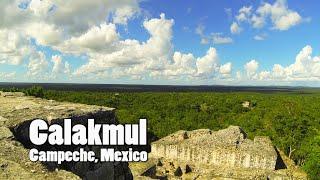 Mexico : Mayan Ruins of Calakmul, Campeche