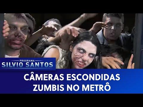 Zumbis No Metrô Câmera Escondida SBT Subway Zombie Prank