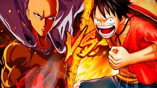 SAITAMA VS. MONKEY D. LUFFY ║  COMBATES MORTALES DE RAP ║  JAY-F
