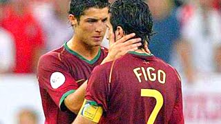 Cristiano Ronaldo vs Luis Figo || Portuguese DNA Skills, Goals, & Tricks || 2015