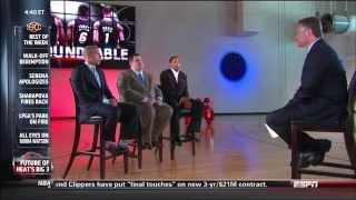 June 23, 2013 - ESPN - What is the Future of the Miami Heat's Big Three? (Sportscenter)
