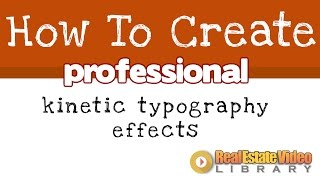 How To Create Kinetic Typography Effects In PowerPoint