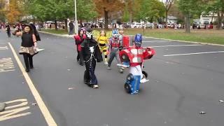 Optimus Prime Transforming Costume Halloween