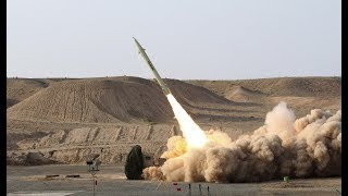 Iranian Mid range Missiles Launch footage (18th June 2017)
