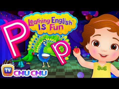 Xxx Mp4 ChuChu TV Learning English Is Fun™ Alphabet P Song Phonics Amp Words For Preschool Children 3gp Sex
