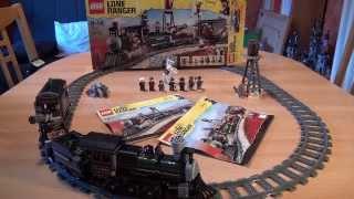 Test LEGO Eisenbahnjagd (Set 79111 The Lone Ranger)