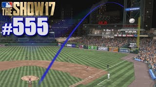 LONGEST HOME RUN EVER IN THE WORLD SERIES! | MLB The Show 17 | Road to the Show #555