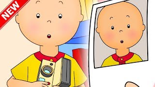 ★NEW★ 📷 Caillou Takes a Selfie 🤳 Funny Animated cartoons for kids | Caillou Cartoons for children