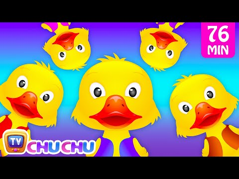 Five Little Ducks and Many More Numbers Songs Number Nursery Rhymes Collection by ChuChu TV