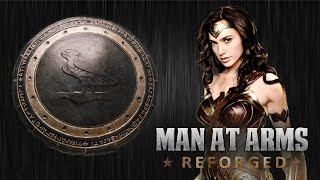 Wonder Woman Shield - MAN AT ARMS: REFORGED