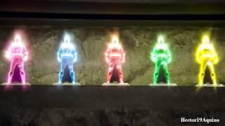 Power Rangers Super Megaforce | Primera transformación en power rangers anteriores
