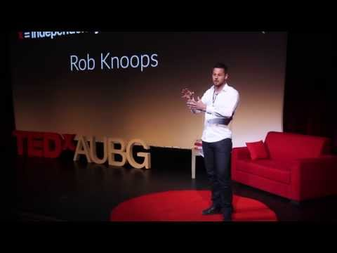 Where are those extra dimensions in the string theory Rob Knoops at TEDxAUBG