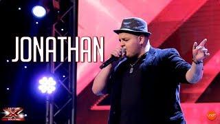 ¡Jonathan se presentó con una canción muy potente! | Audiciones | Factor X Bolivia 2018