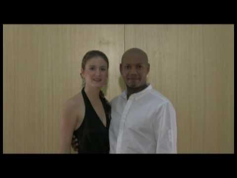 Kizomba free lessons from Master Kizomba teacher from their new DVD at kentsalsa