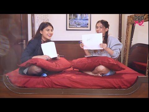 Best Friend Challenge | Komal & Cherry Take The BFF Challenge - POPxo