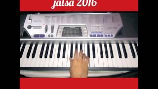 Bai Wadyavar ya Song piano by nikhil